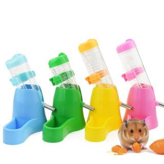 【新品】ハムスター 小動物 給水器 餌入れ エサ入れ 水飲み 食器 給餌(小動物)
