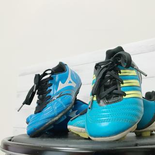 アディダス(adidas)のアディダス  ミズノ  サッカースパイク 2足セット‼️(シューズ)