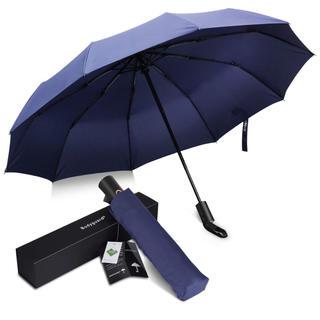 折りたたみ傘 Teflon加工 超撥水 頑丈な10本骨 (傘)