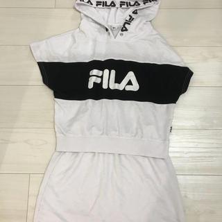 フィラ(FILA)のFILA セットアップ パーカー スカート セット(セット/コーデ)
