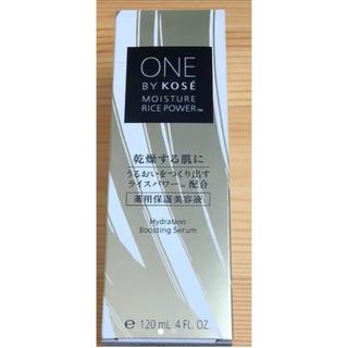 コーセー(KOSE)のワンバイコーセー    薬用保美容液  付け替え 120ml(ブースター / 導入液)