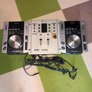 パイオニア CDJ- 200×2台  テクニクス SH-DX 1200×1台(CDJ)