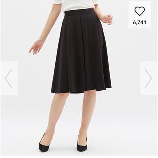 ジーユー(GU)のGU☆イージーポンチスカート(ひざ丈スカート)