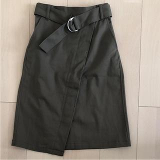 ジーユー(GU)のGUタイトスカート(ひざ丈スカート)