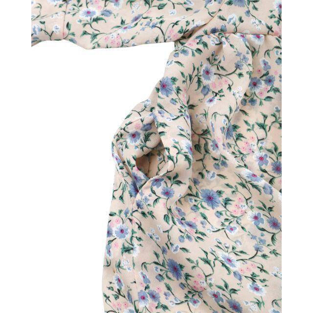 WILL MERY(ウィルメリー)のさお☆ゆん様専用ページ 小花シフォンのベルスリーブワンピース ピンク130㎝ キッズ/ベビー/マタニティのキッズ服 女の子用(90cm~)(ブラウス)の商品写真