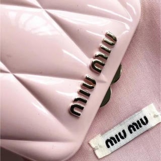 ミュウミュウ(miumiu)のミュウミュウ 香水 バッグ ミラー(ミラー)