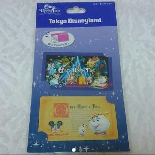 ディズニー(Disney)のディズニー icカードステッカー(キャラクターグッズ)
