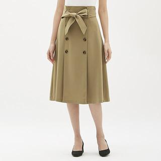 ジーユー(GU)のGU トレンチスカート(ひざ丈スカート)
