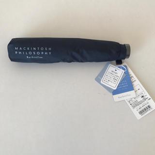 マッキントッシュフィロソフィー(MACKINTOSH PHILOSOPHY)の紺色 ビジネス 折りたたみ傘 マッキントッシュフィロソフィー 晴雨兼用(傘)