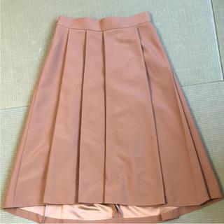 デミルクスビームス(Demi-Luxe BEAMS)の美品!デミルクスビームス ミモレ丈スカート(ひざ丈スカート)