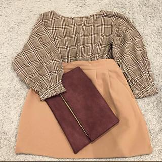 ジーユー(GU)のチェックシャツ トップス 新品(シャツ/ブラウス(長袖/七分))