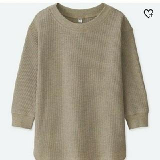 ユニクロ(UNIQLO)のユニクロ◇ワッフルクルーネックt(Tシャツ(長袖/七分))