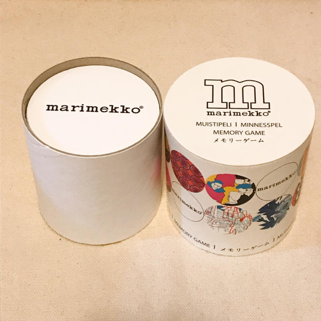 marimekko(マリメッコ)の【新品・未使用】マリメッコ メモリーゲーム インテリア/住まい/日用品のインテリア/住まい/日用品 その他(その他)の商品写真
