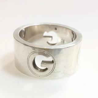 グッチ(Gucci)のGUCCI シルバー リング ロゴ 18588803(リング(指輪))