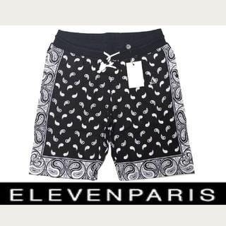 イレブンパリ(ELEVEN PARIS)の新品2.8万 イレブンパリ ELEVEN PARIS スウェットコットンショーツ(ショートパンツ)