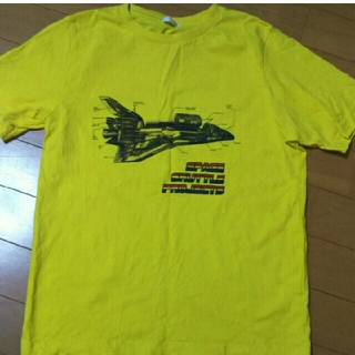 ジーユー(GU)のさらに値下げ!美品!着用3回!GU 150センチTシャツ(Tシャツ/カットソー)