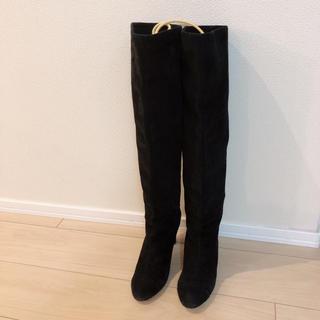 モードエジャコモ(Mode et Jacomo)のカリーノ◆ロングブーツ黒24cm(ブーツ)