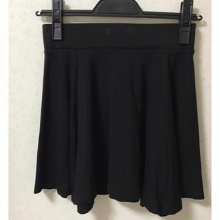 エイチアンドエム(H&M)のH&M バックファスナー付きスカート(ひざ丈スカート)