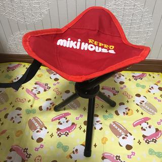 ミキハウス(mikihouse)のミキハウス 折りたたみ チェア 運動会 、ピクニック(その他)