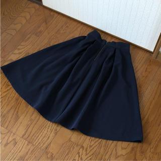 ジーユー(GU)のGU ミモレ丈スカート S(ひざ丈スカート)