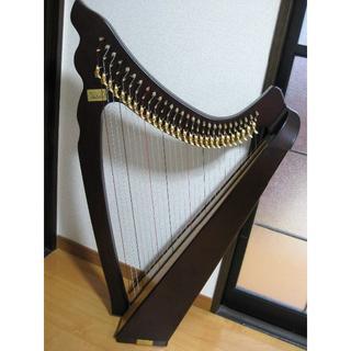 エンジェルハープ 絢(AYA) 28弦 小型レバーハープ ソフトケース付(その他)