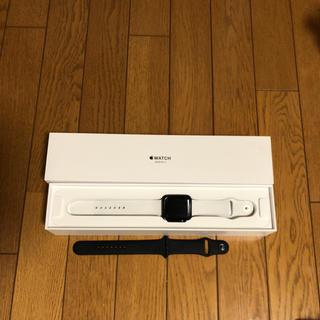 アップルウォッチ(Apple Watch)のAppleWatch series 3 Cellularモデル(腕時計(デジタル))