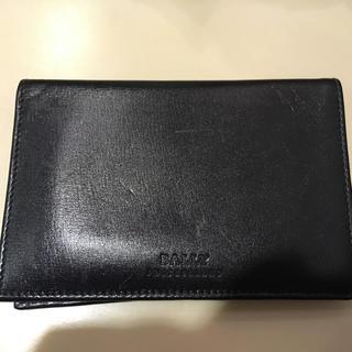 バリー(Bally)の値下不可 美品 正規直営購入 BALLY レザー 財布 カードケース(折り財布)