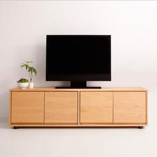 MUJI (無印良品) - 無印良品 スタッキングシェルフ キャビネット TV台 オーク材 新品
