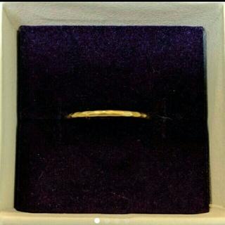 22K 金リングサイズ10号(リング(指輪))