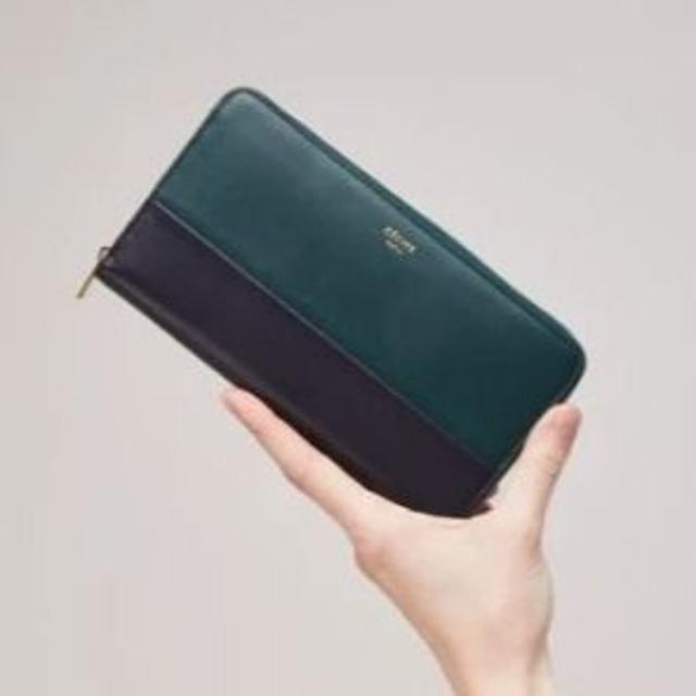 buy popular 04847 e10e8 日本未入荷 CELINE☆ ソロ ラージジップド長財布 バイカラー グリーン | フリマアプリ ラクマ