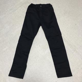 ジーユー(GU)のGU ブラック パンツ 140cm 中古(パンツ/スパッツ)
