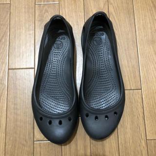 クロックス(crocs)の美品☆クロックス (バレエシューズ)