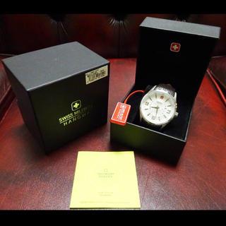 スイスミリタリー(SWISS MILITARY)の新品未使用品! 定価2万円 スイスミリタリー メンズ クオーツ 腕時計(腕時計(アナログ))