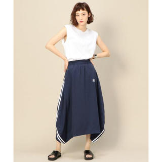 アディダス(adidas)のアディダス ロングスカート Mサイズ(ロングスカート)