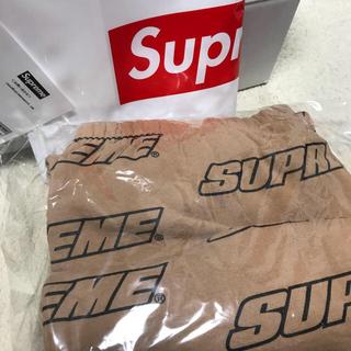 シュプリーム(Supreme)のsupreme sweat pants ブラウン(ワークパンツ/カーゴパンツ)