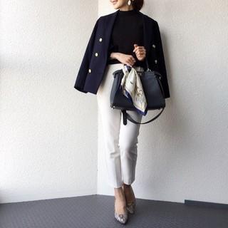 ジーユー(GU)の新品  タグ付き  GU  ダブルブレストジャケット  S  紺ブレ(テーラードジャケット)