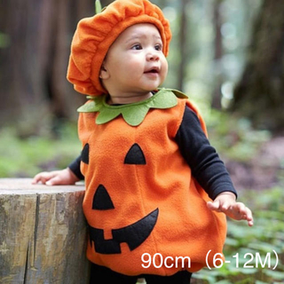ベビー ハロウィン かぼちゃ コスチューム 90(その他)