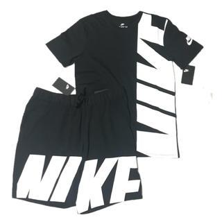 ナイキ(NIKE)の2018年新作モデル✨NIKE BIGLOBE セットアップ 上下(Tシャツ/カットソー(半袖/袖なし))