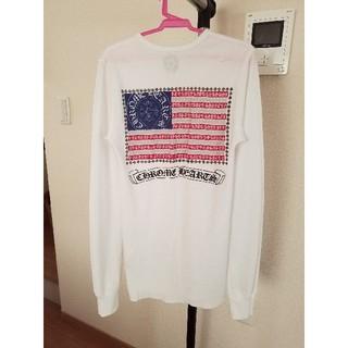 クロムハーツ(Chrome Hearts)の超美品★CHROME HEARTS バックプリント ロングTシャツ (S)(Tシャツ(長袖/七分))