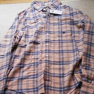 アバクロンビーアンドフィッチ(Abercrombie&Fitch)の新品タグ付メンズアバクロチェックシャツ(シャツ)