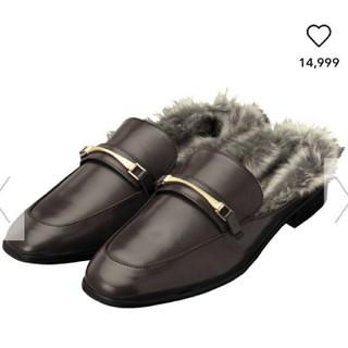 ジーユー(GU)のGU*ファーローファー(ローファー/革靴)