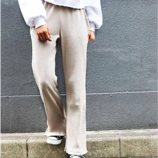 TODAYFUL - RED CHOP WORKS リブスリットパンツ♪