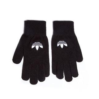 アディダス(adidas)のadidas original(アディダス オリジナル)ロゴ グローブ 手袋 黒(手袋)