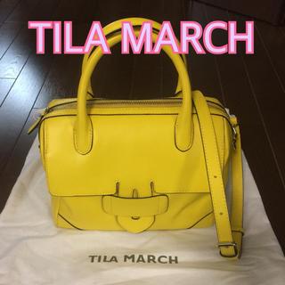 ティラマーチ(TILA MARCH)の美品✨TILA MARCH ティラマーチ 2wayボストンバッグ(トートバッグ)