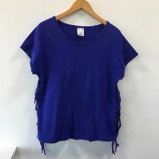 エックスガール(X-girl)のxgirlフリンジTシャツ(Tシャツ(半袖/袖なし))