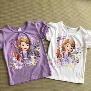 Disney - プリンセスソフィア Tシャツ110センチ