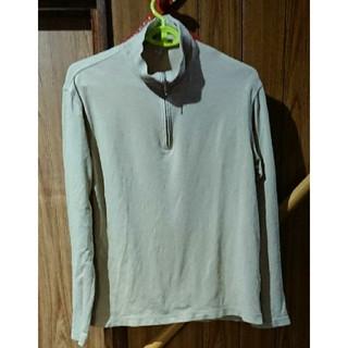 ユニクロ(UNIQLO)のロングシャツ(Tシャツ(長袖/七分))