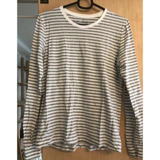 ムジルシリョウヒン(MUJI (無印良品))の無印 ボーダーTシャツ(Tシャツ(長袖/七分))