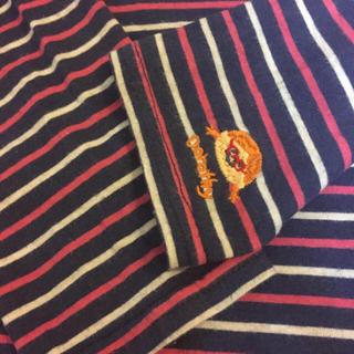 ラフ(rough)のrough❗️袖口刺繍 ボーダーTシャツ❗️(Tシャツ(長袖/七分))