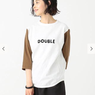 ビームスボーイ(BEAMS BOY)のBEAMS BOY  jackman ロゴベースボールTシャツ(Tシャツ(長袖/七分))